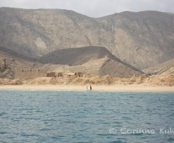 Qantab Beach. Foto: cku