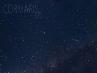 Angesichts eines solchen Sternenhimmels, aufgenommen mit einer Canon G16 ohne Stativ, neigt man zu Demut. Unten ist die Milchstraße zu erkennen. Foto: cku
