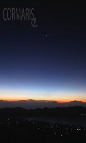 Die Sonne weicht das Dunkel auf. Foto: cku
