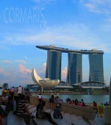 Sonnenuntergangsstimmung vor dem wohl meistfotografierten (ja, auch von mir) Gebäude der Stadt. Foto: cku