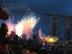 Feuerwerk gab's natürlich auch. Foto: cku