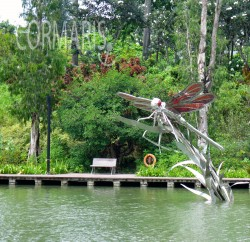 Noch ein bisschen Kunst in den gardens by the bay. Foto: cku