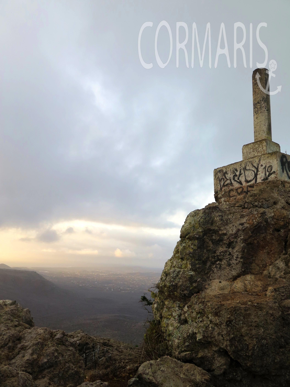 Auf dem Gipfel des Christoffel. Foto: cku