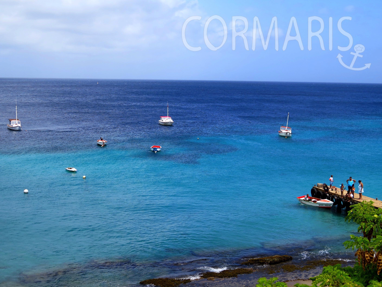 Schöner Blick über Playa Grandi in Westpunt. Foto: cku
