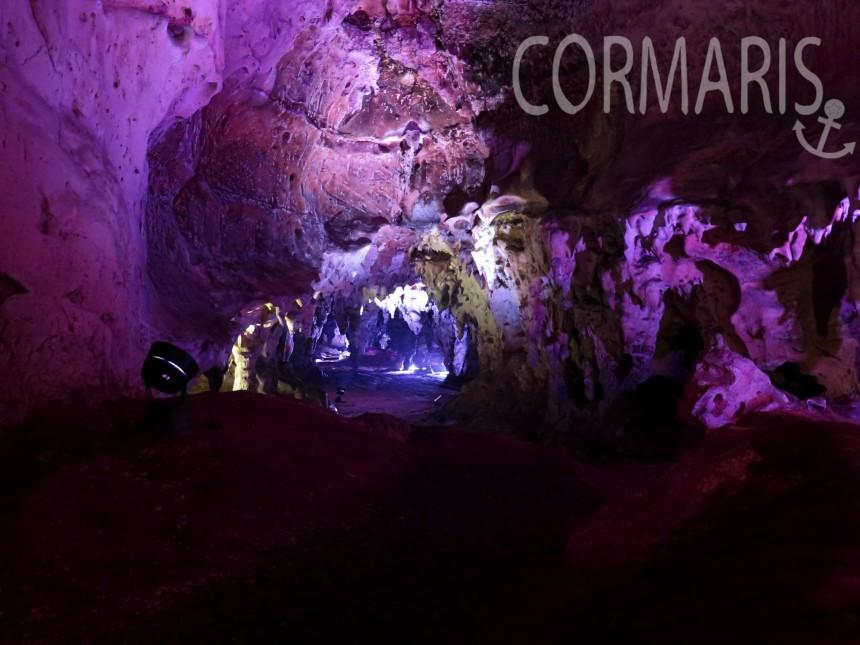 Höhlenmagie. Benoten gehen auch trocken. Foto: cku