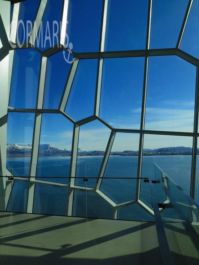 Blick aus der Oper in Reykjavik. Foto: cku
