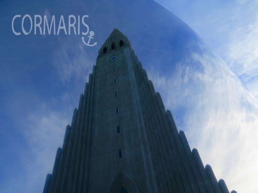 Reykjaviks bekannteste Kirche – fotografiert via Kunstobjekt. Foto: cku