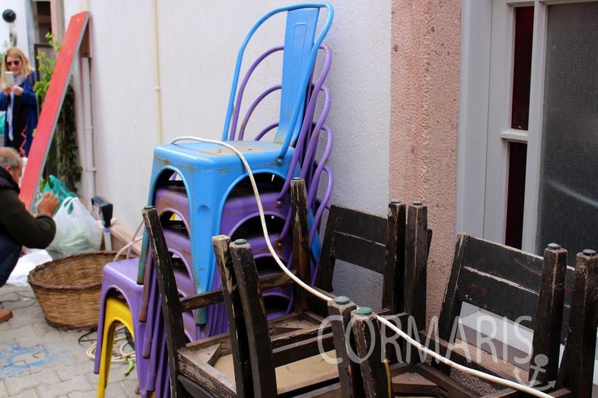 Und schon wieder... Stühle. Foto: cku