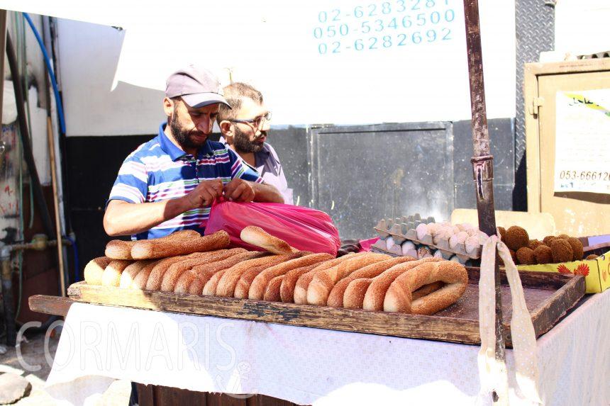 Frühstück vorm Damaskus Tor. Foto: cku