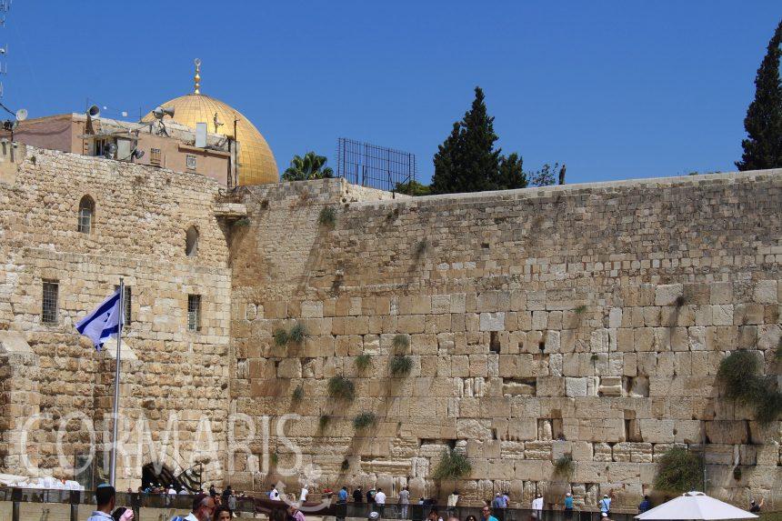 Klagemauer und Felsendom. Foto: cku