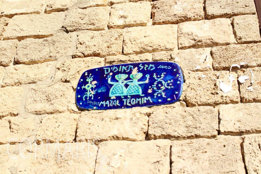Im Künstlerviertel von Java sind die Straßen nach Sternzeichen benannt. Foto: cku