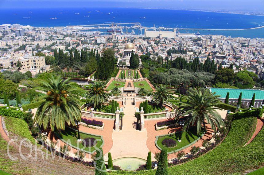 Die hängenden Bahai-Gärten von Haifa. Foto: cku