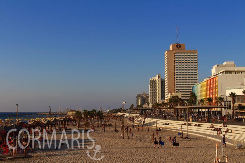 Tel Aviv am frühen Abend. Foto: cku