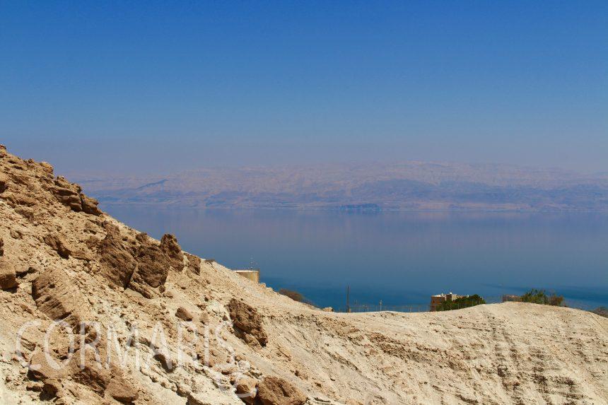 Totes Meer, Blick aus En Gedi Richtung Jordanien. Foto: cku