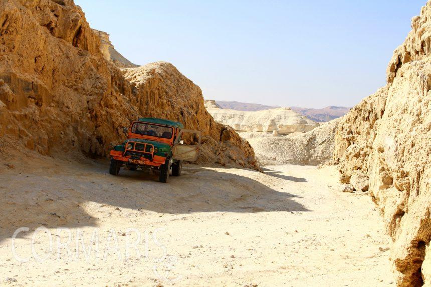 Wüste am Toten Meer. Foto: cku